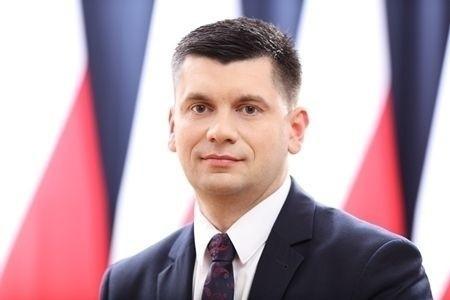Wicemarszałek województwa małopolskiego Łukasz Smółka
