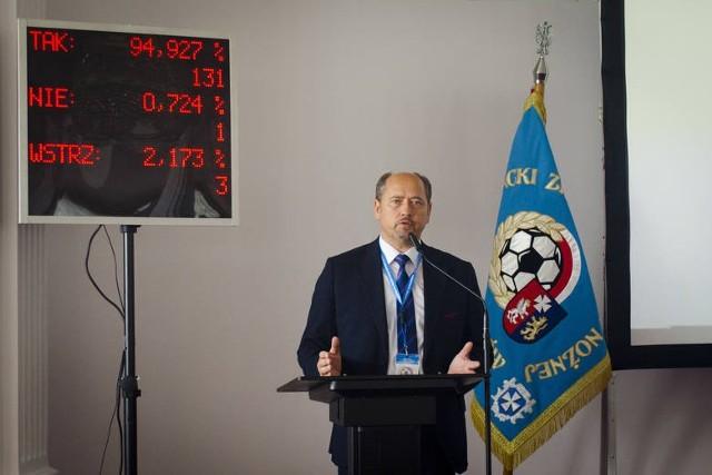 Jednym z delegatów na Walne PZPN będzie prezes Podkarpackiego ZPN-u Mieczysław Golba.