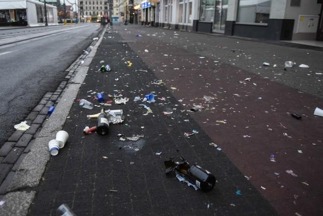 Poznań: Tak wygląda miasto po zabawie sylwestrowej