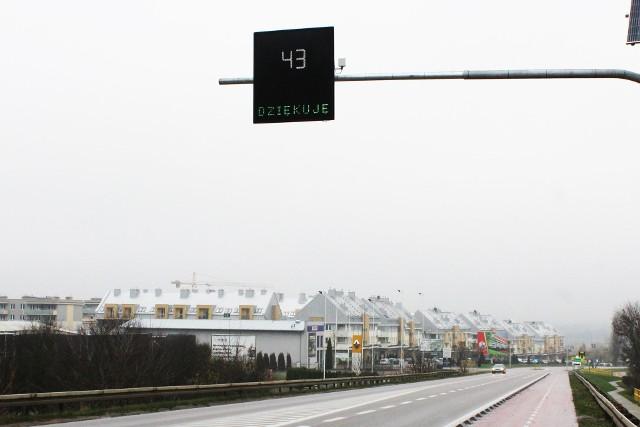Nowy fotoradar został zamontowany koło bardzo ruchliwej ulicy Białostockiej w Wasilkowie