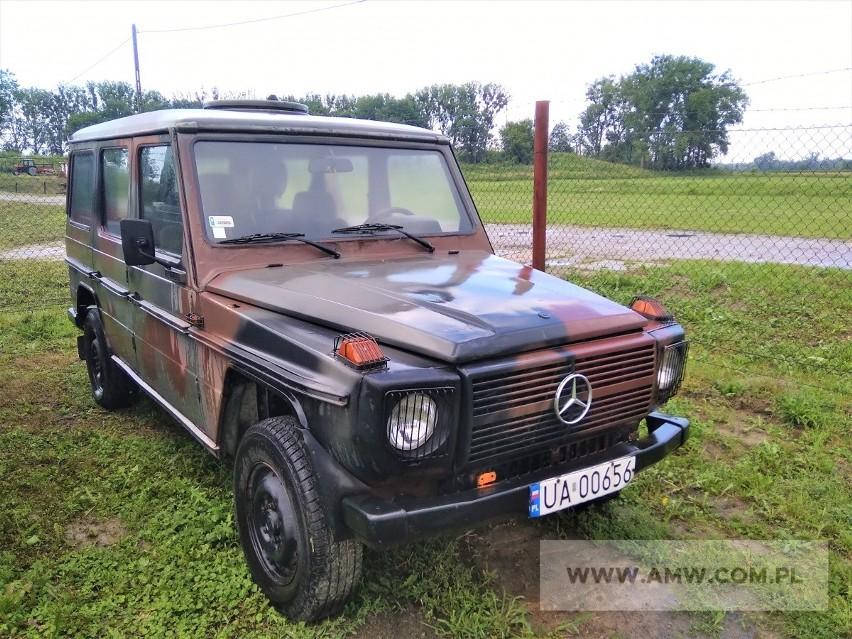 Samochód ciężarowo-osobowy wysokiej mobilności MERCEDES 290...