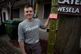Lipnica Murowana. Padł nowy rekord, Andrzej Goryl wykonał palmę wysoką na 37 metrów i 78 centymetrów - zobacz zdjęcia