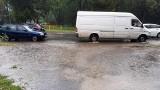 Burza w Łodzi w sobotę 5 września. Nawałnica z deszczem przeszła przez miasto