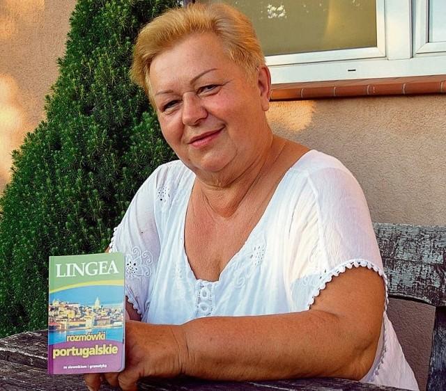 - Uczę się języka portugalskiego - mówi Danuta Iwaszko. - Znam już sporo zwrotów. Mam nadzieję, że dzięki temu będę mogła porozumieć się ze swoimi gośćmi