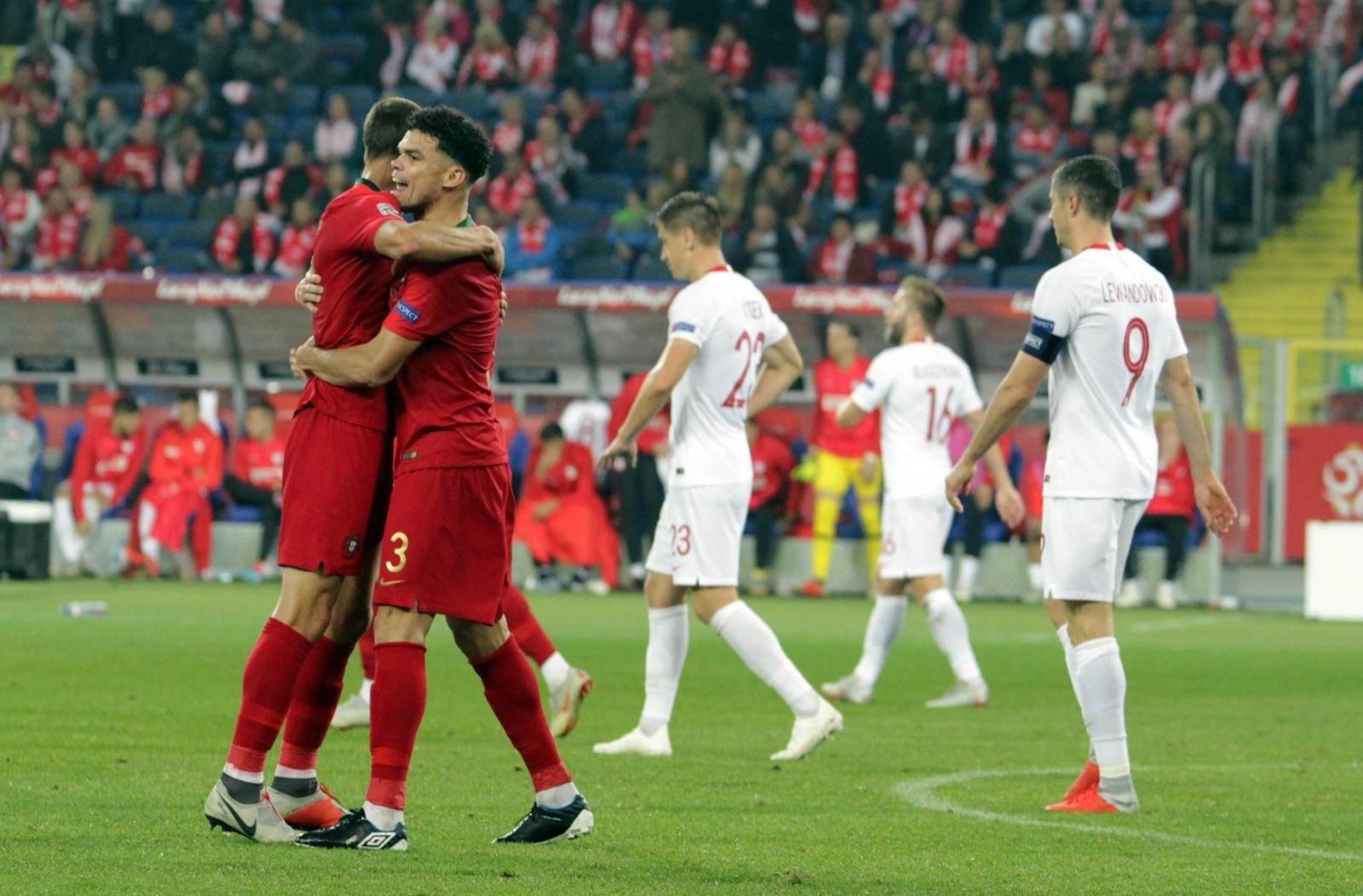 bfa5748eb Liga Narodów. Bolesna lekcja od Portugalii na Stadionie Śląskim ...