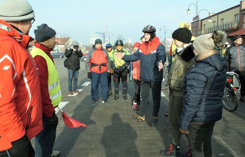 Ponad 40 cyklistów skorzystało z zaproszenia Kruszwickiej...