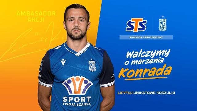 Alan Czerwiński został ambasadorem zbiórki na 20-letniego Konrada