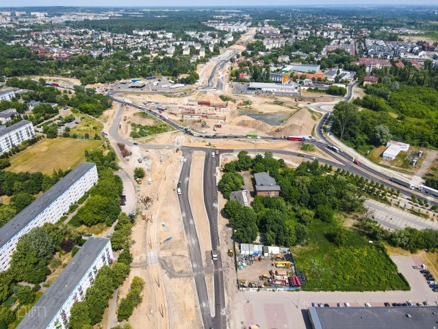 Od 26 czerwca rozpoczyna się przebudowa skrzyżowania ul. Lechickiej z ul. Murawa