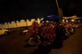 Cmentarz św. Rocha nocą (zdjęcia)