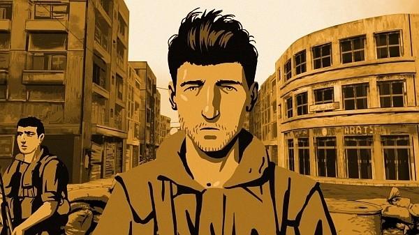 """Kadr z filmu:""""Walc z Baszirem"""""""