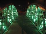 Wandale zniszczyli lampę i instalację iluminacji mostu w Rzgowie