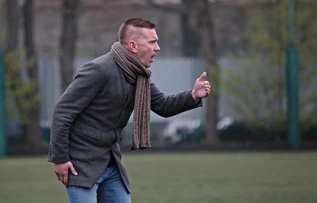 Trener Paweł Woźniak