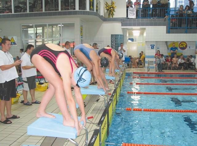 Młodzi pływacy z czterech krajów rywalizowali na pływalni miejskiej w Bielsku Podlaskim już po raz szósty
