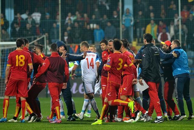 Meczowi Czarnogóry z Rosją towarzyszyły wielkie, pozasportowe emocje
