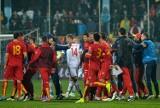 Bramkarz reprezentacji Rosji został raniony podczas meczu w Podgoricy [WIDEO]