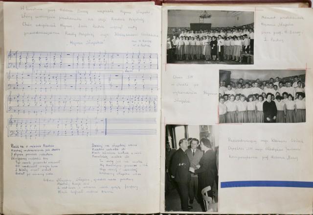 Walenty Szymczewski kronikę Studium Nauczycielskiego z lat 1957-59 zamierza przekazać Muzeum Pomorza Środkowego