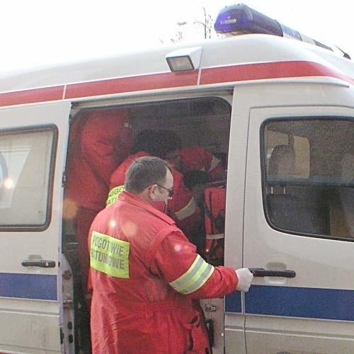 W wyniku karambolu dwie osoby trafiły do szpitala