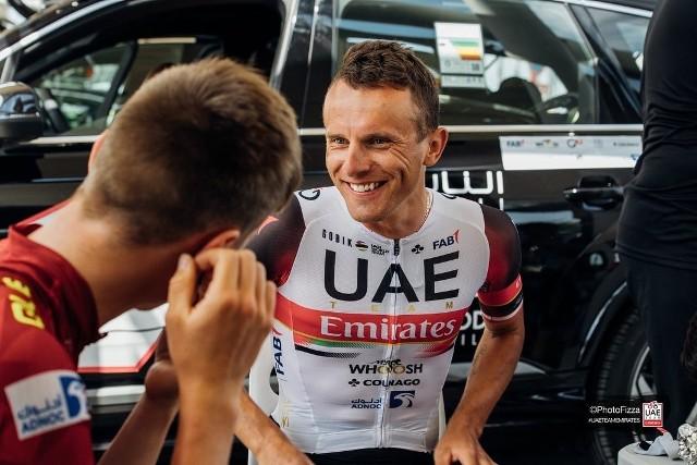 Rafał Majka startuje w wyścigu Tirreno-Adriatico w barwach UAE Team