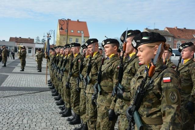 W czwartek w Rzepinie ślubowały klasy wojskowe