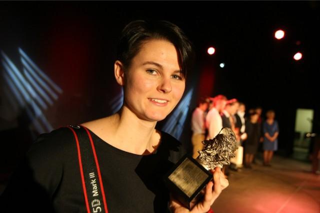 Aleksandra Wiącek z Liceum Ogólnokształcącego im. Stanisława Lema w Kowarach (powiat jeleniogórski) otrzymała nagrodę główną - Orła Dolnośląskiego.