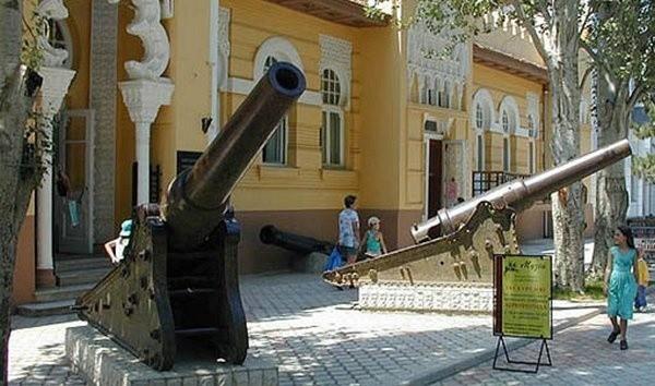Eupatoria - jedno z nadmorskich miast Krymu.