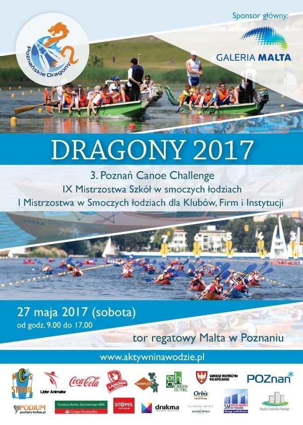 Poznań Canoe Challenge to jedna z wielu imprez, które odbędą się 27 maja na Torze Regatowym Malta
