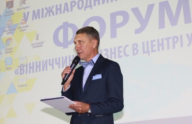 Jeden z paneli dyskusyjnych  podczas forum prowadził wicemarszałek Województwa Świętokrzyskiego Jan Maćkowiak.