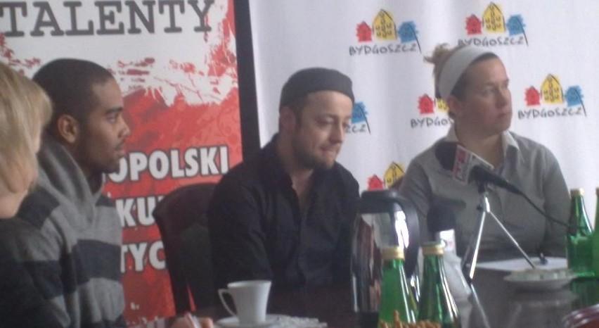 Ramos i Mozil podczas konferencji prasowej