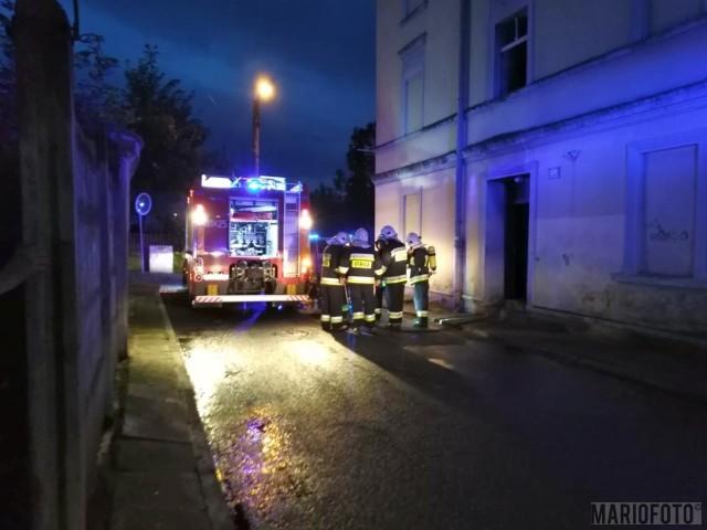 Pożar w Prudniku.