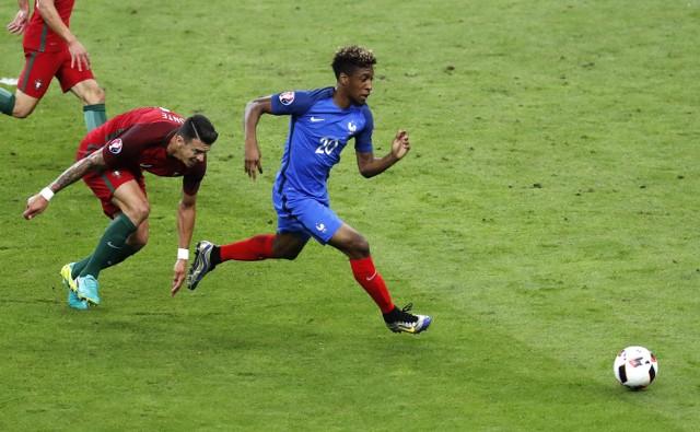 Kingsley Coman był najszybszym piłkarzem turnieju we Francji
