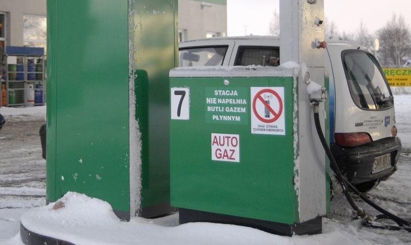 Stacja benzynowa przy ul. Kaszubskiej w Słupsku.