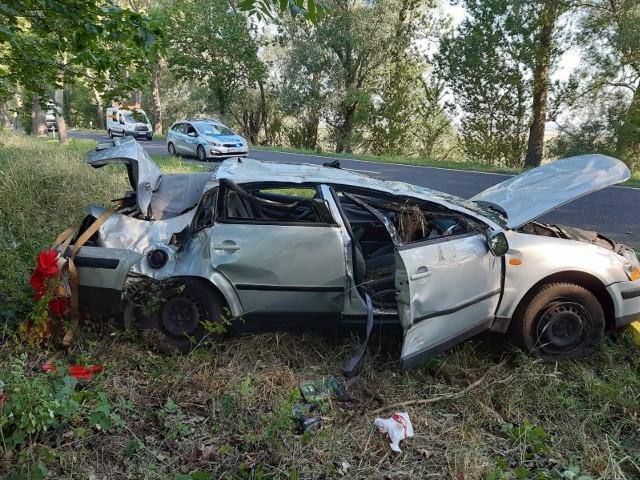 Do wypadku doszło w środę (17 czerwca) rano na drodze krajowej nr 22 między Kostrzynem nad Odrą a Słońskiem, w miejscowości Żabczyn. Trzy osoby zostały ranne.