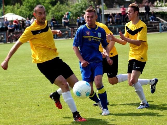 Najbardziej interesującym spotkaniem były derby w lidze okręgowej. Korona uległa z nich KS CK Troszyn 0:2.