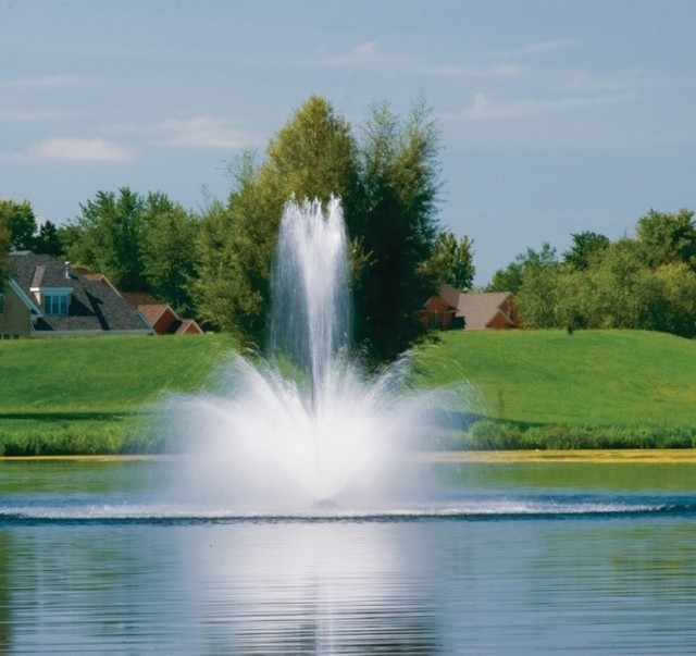 Tak będzie wyglądała fontanna w dzień...