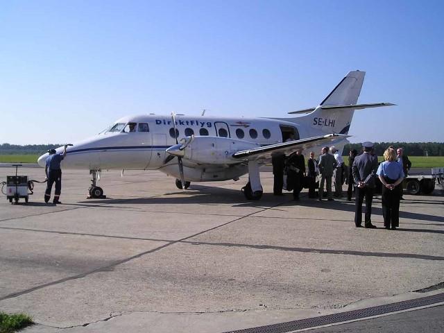 Na pokładzie samolotu do Szwecji zmieści się 19 podróżnych. Żeby kurs był opłacalny powinno nim lecieć przynajmniej 8 osób dwa razy dziennie.