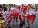 Tak kibicuje Kraków! Mecz Polska - Hiszpania na Euro 2020 zgromadził tłumy fanów w strefach kibica [ZDJĘCIA]