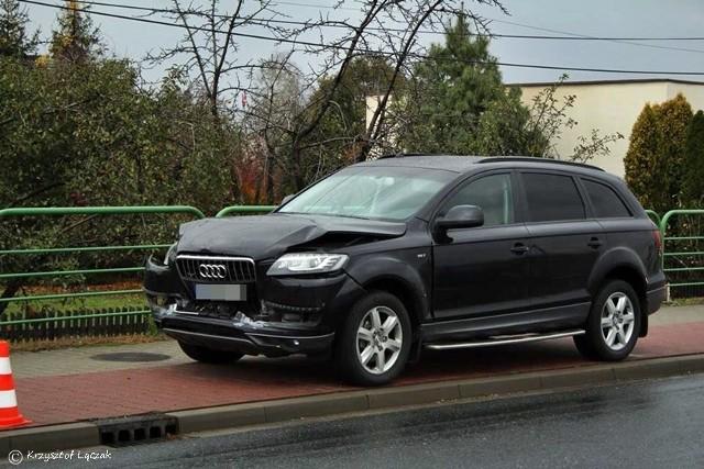 Rządowa limuzyna Beaty Szydło zderzyła się z samochodem osobowym audi