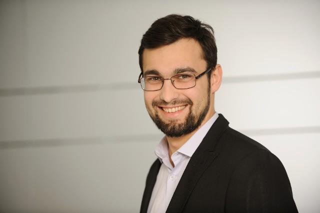 Łukasz Hołubowski, wiceprezes firmy E003B7 sp. z o.o., spółki celowej Rafako z Raciborza, która budowała blok energetycznegoy w Jaworznie