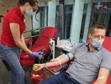 Przed Urzędem Marszałkowskim w Lublinie odbyła się akcja krwiodawstwa. Zobacz zdjęcia
