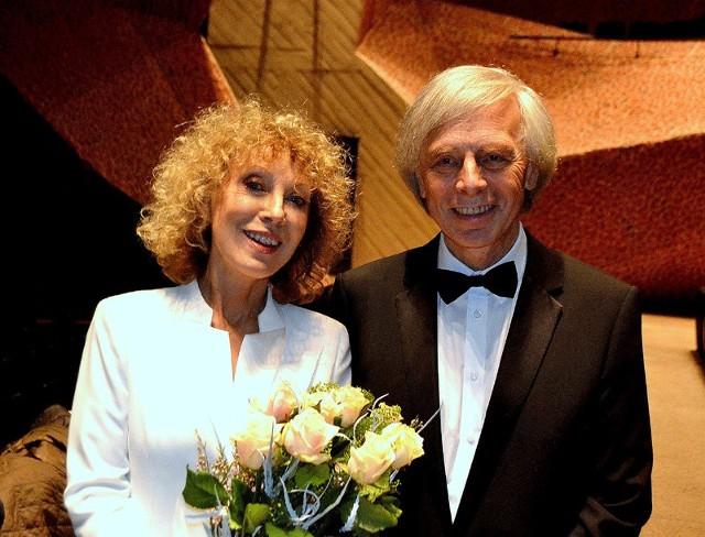 Alicja Majewska i Włodzimierz Korcz tworzą wspaniały artystyczny duet od 40 lat