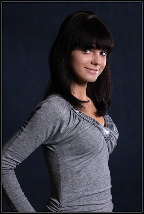 Olga Wiśniewolska w konkursie Miss Podlasia Nastolatek 2009 startuje z literką B.