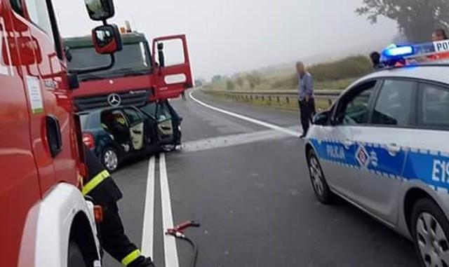 W wypadku ranna została jedna osoba.