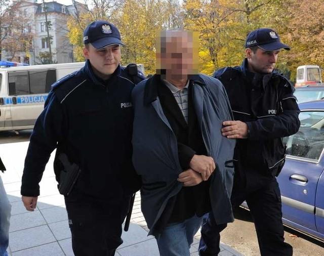 Leszek P. usłyszał zarzuty 4 listopada, a w areszcie spędził nieco ponad miesiąc.