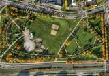 Nie! To nie Wersal. To park w Gorzowie. Z lotu ptaka wygląda jak gigantyczny ogród!