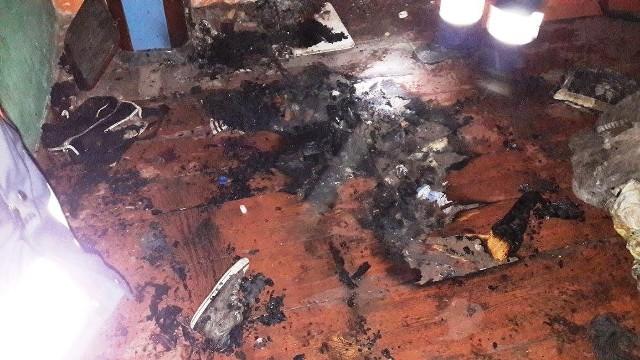W pożarze w Rąpicach zginęła dwuletnia dziewczynka.