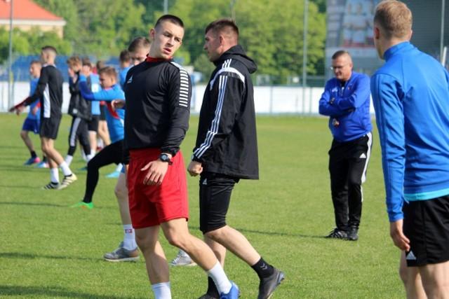 Piłkarze Broni zaczęli treningi