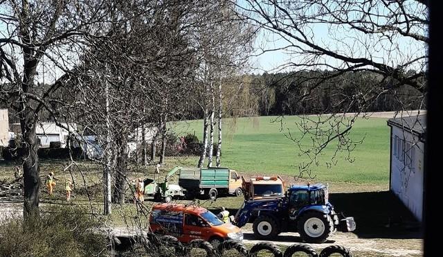 Przebudowa drogi gminnej Glinki - Cierplewo już rozpoczęta. Wykonawca z Nakła ma uporać się z zadaniem do połowy lata