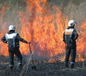 Do pożaru wysłano dwie jednostki ratowniczo-gaśnicze.