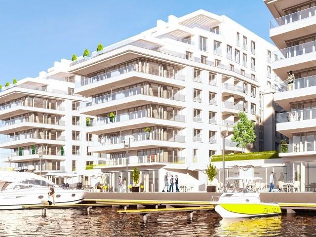 Tak ma wyglądać nowe osiedle nad Odrą w Szczecinie