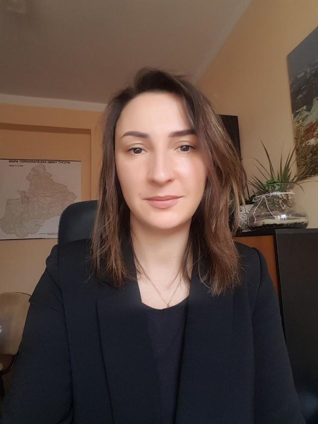 Anna Fil, sekretarz Urzędu Gminy w Tyczynie